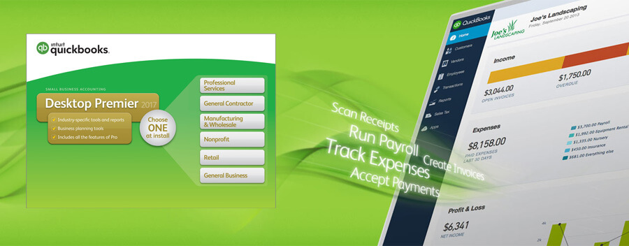 Quickbooks Premier - QuickBooks Solution Provider in Sharjah, Oman, Abu Dhabi